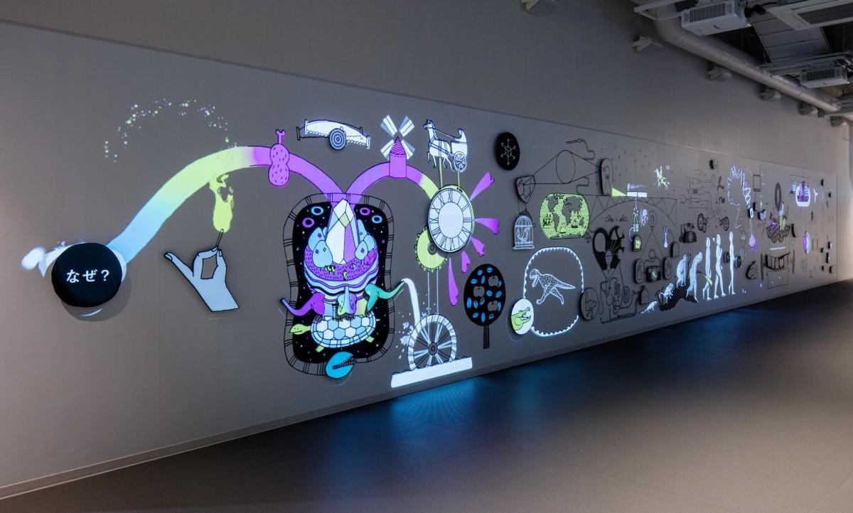 《発見の壁》2017 福岡市科学館
