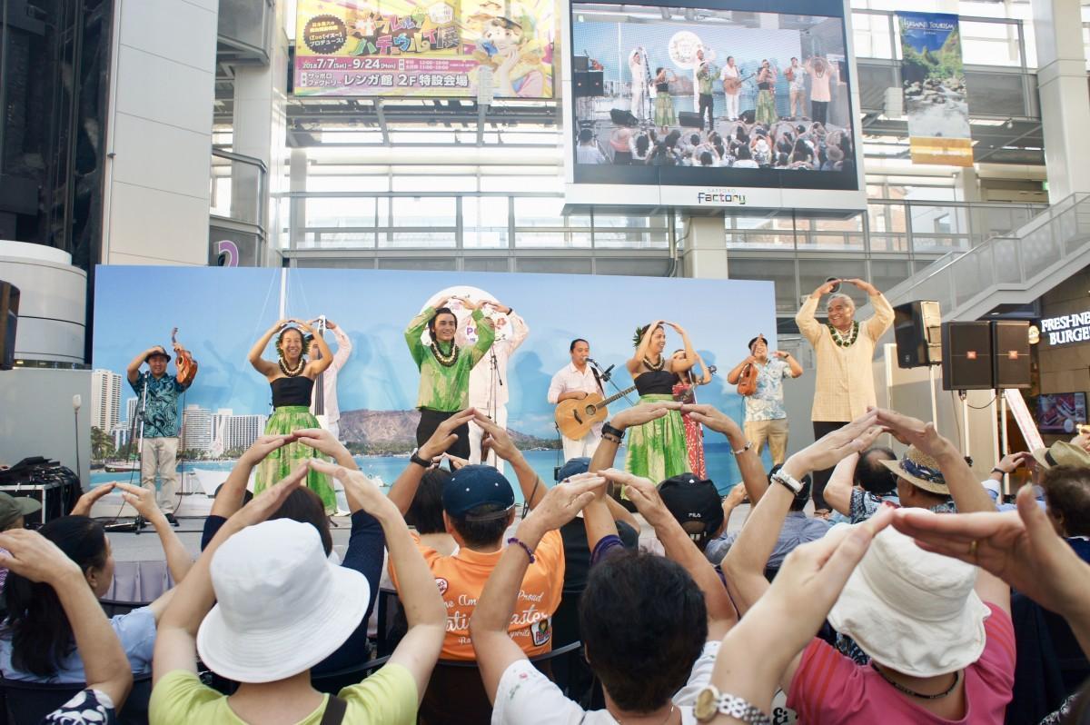 昨年の「Hawaii Expo」札幌の様子