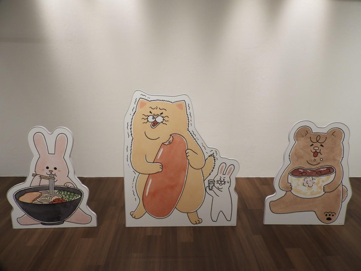 展示会「キューライス展 ~福岡パルコ フェムエバー~」外観