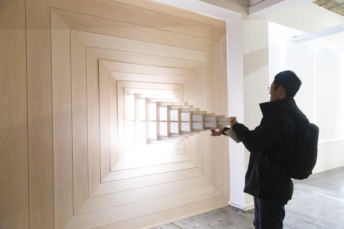 「百枝組」の「重窓」、過去の展示