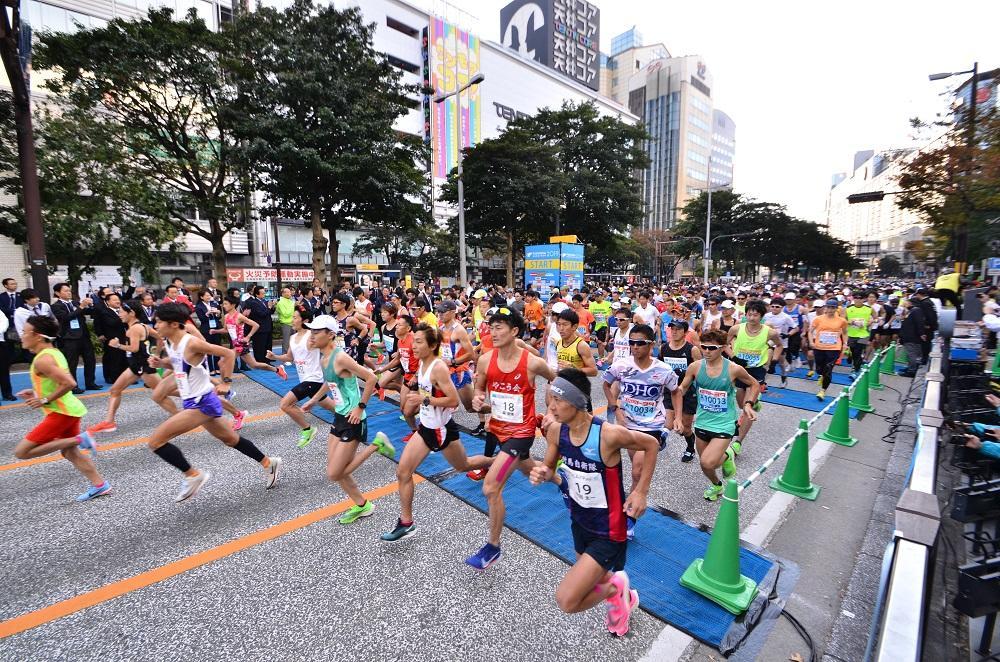 「福岡マラソン2019」開催の様子