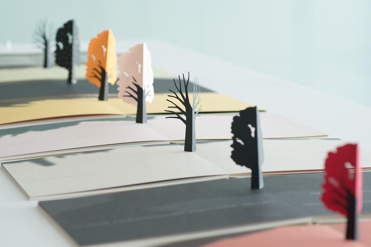 「Little Tree」 ワンストローク 2008年