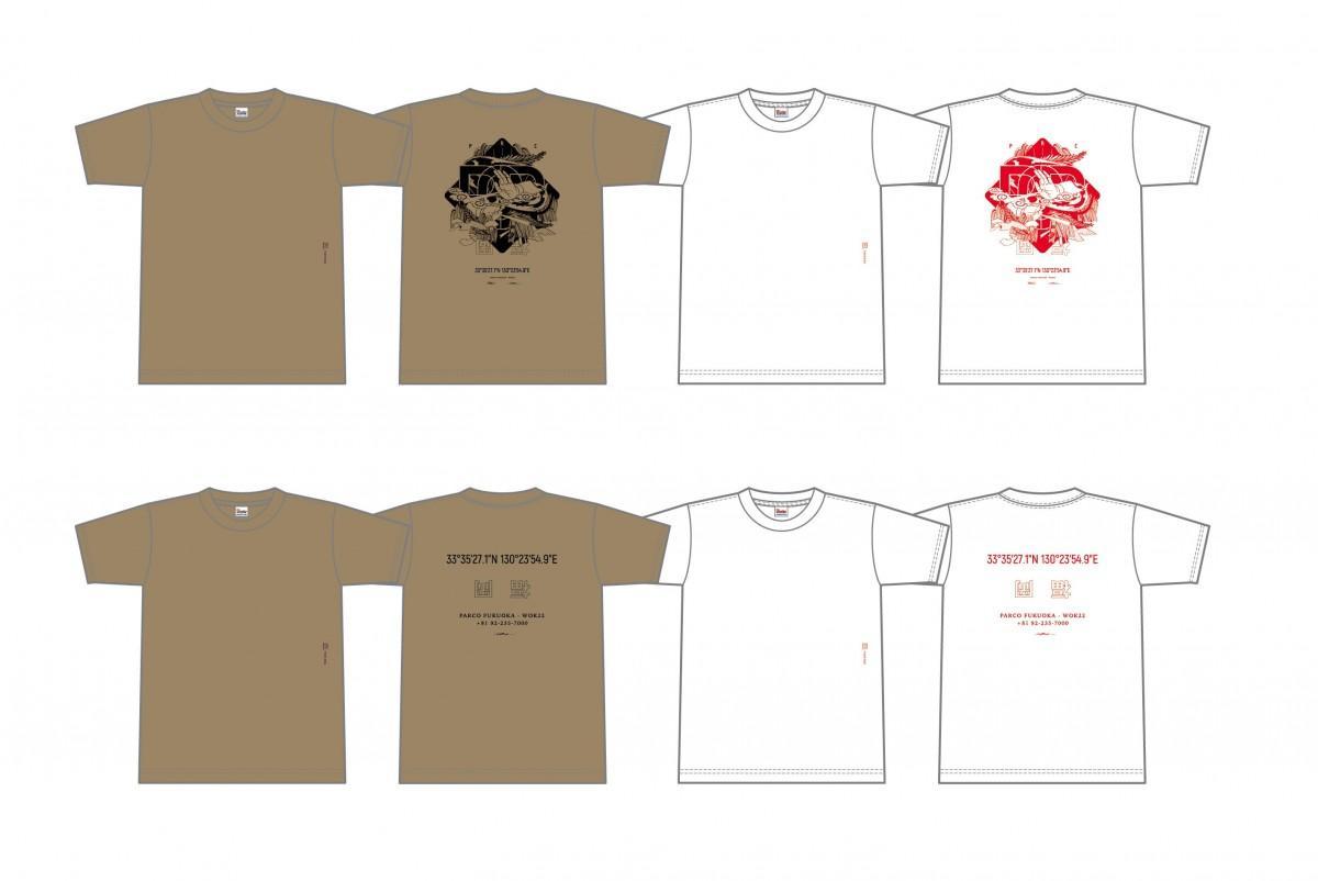 「福岡パルコ オリジナル フクオカTシャツ」