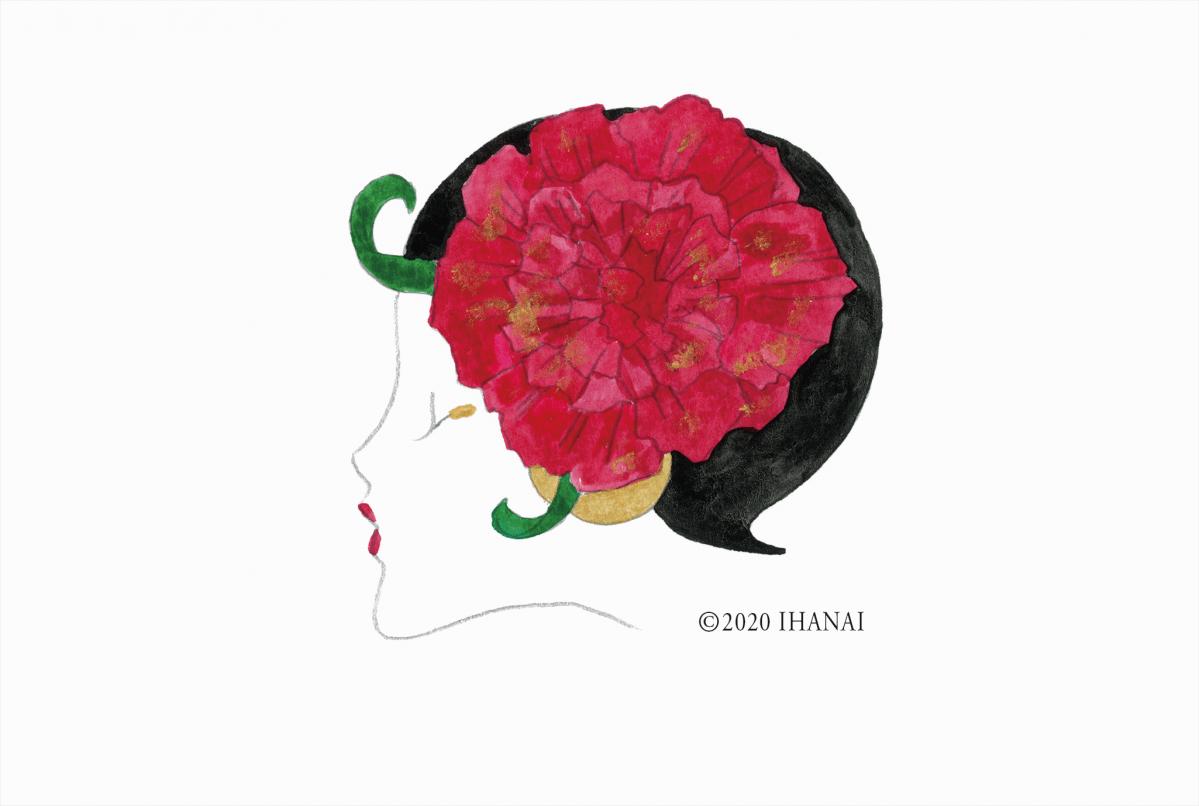 「花の女神フロラ」シリーズ・カーネーション ©2020 IHANAI