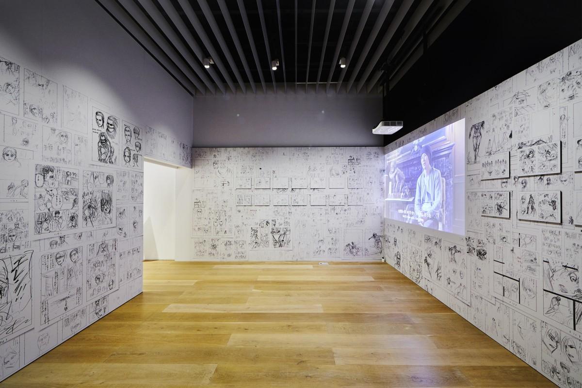 「進撃の巨人展FINAL」東京会場の様子 ©諫山創・講談社/進撃の巨人展FINAL製作委員会