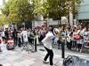 天神・きらめき通りで歩行者天国イベント「福岡ストリートパーティー」
