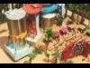 天神ソラリアプラザで「THERMOS VILLAGE CAFE」 巨大タンブラーやジオラマも