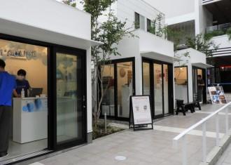 カイタックスクエアガーデンにレンタルスペース3棟 物販や飲食店としても利用可能