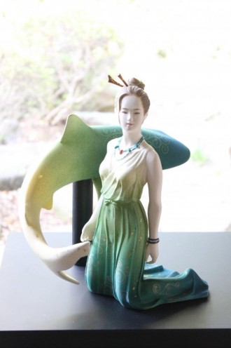 アクロス福岡で「博多人形 未来展」 60点展示販売