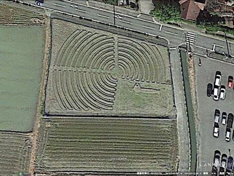 Google Earthからの衛星写真