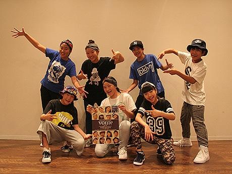 徳島でキッズ・ストリートダンス公演 オーディション通過の15人が出演
