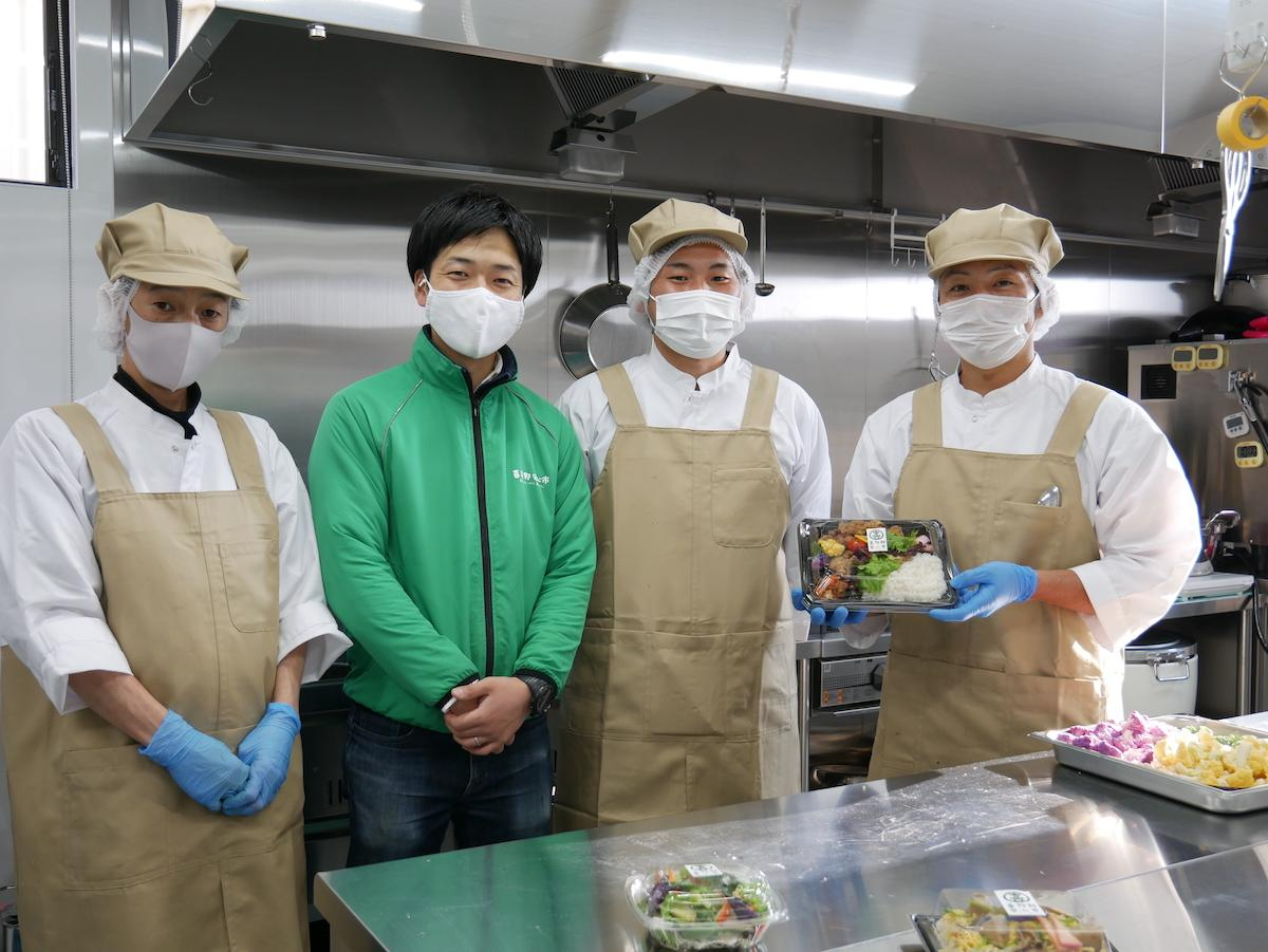 喜多野安心市総菜部のメンバー