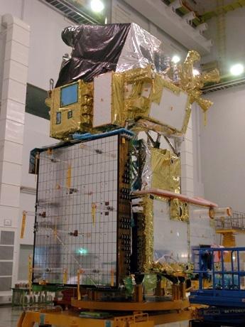 陸域観測技術衛星「だいち」(ALOS) 写真=©JAXA・宇宙航空研究開発機構