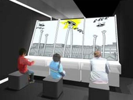 『科学で体験するマンガ展』の展示イメージ