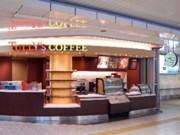 羽田空港鉄道駅構内に「タリーズコーヒー」-無接点充電パッドも導入