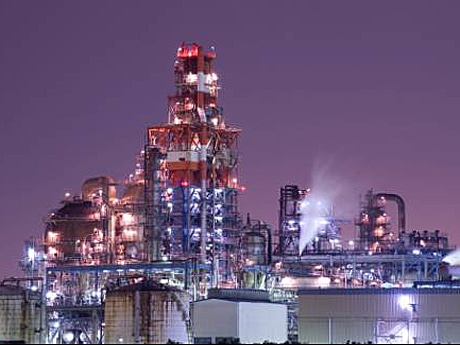 川崎の工場夜景のイメージ