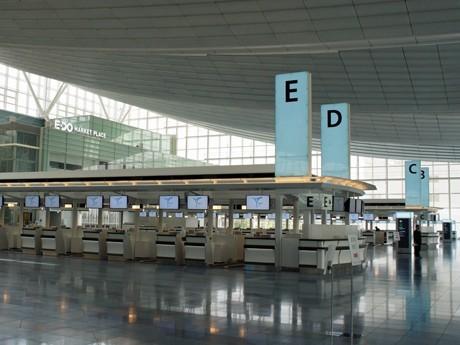 羽田空港国際線ターミナル・出発ロビー