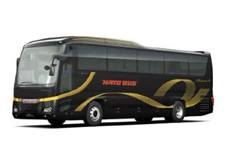 「漆黒カラー」のはとバス最上級車両「ピアニシモIII」