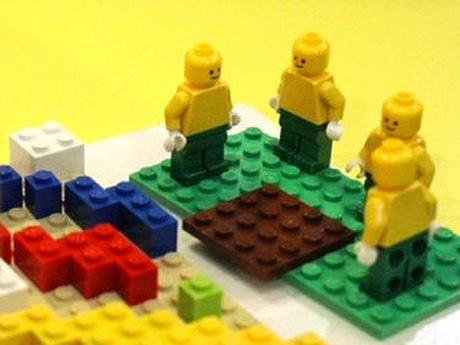 ワークショップで使うレゴプロックのイメージ