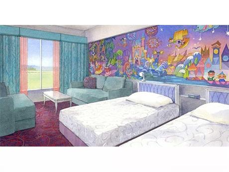「東京ディズニーセレブレーションホテル:ウィッシュ」客室イメージ