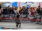 お台場で自転車レース「シクロクロス」 自転車試乗体験も