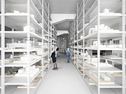 寺田倉庫が「建築倉庫ミュージアム」オープンへ 希少性の高い建築模型の展示も