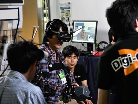 昨年の「先端コンテンツ技術展」会場の様子