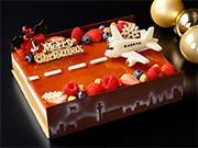 羽田エクセルホテル東急がクリスマスイベント 滑走路イメージのケーキも