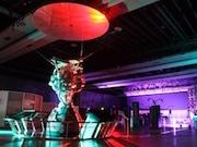 お台場未来館でナイトミュージアム「お地球見」 VRゲーム投影も