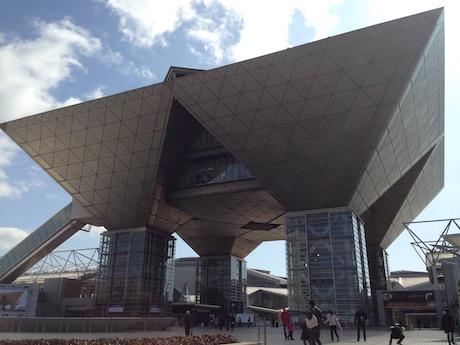 第45回東京モーターショー2017が開催される東京ビッグサイト