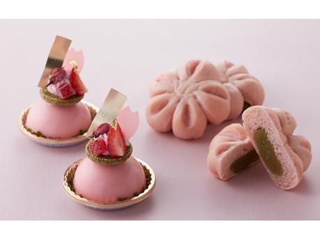 「サクラ桜」「うぐいすあんぱん」の2種類の桜スイーツ