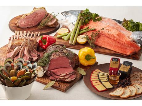 ニュージーランド産の食材を使った料理