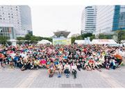 お台場で「有明・お台場リレーハーフマラソン」 親子やチームなど958人が参加