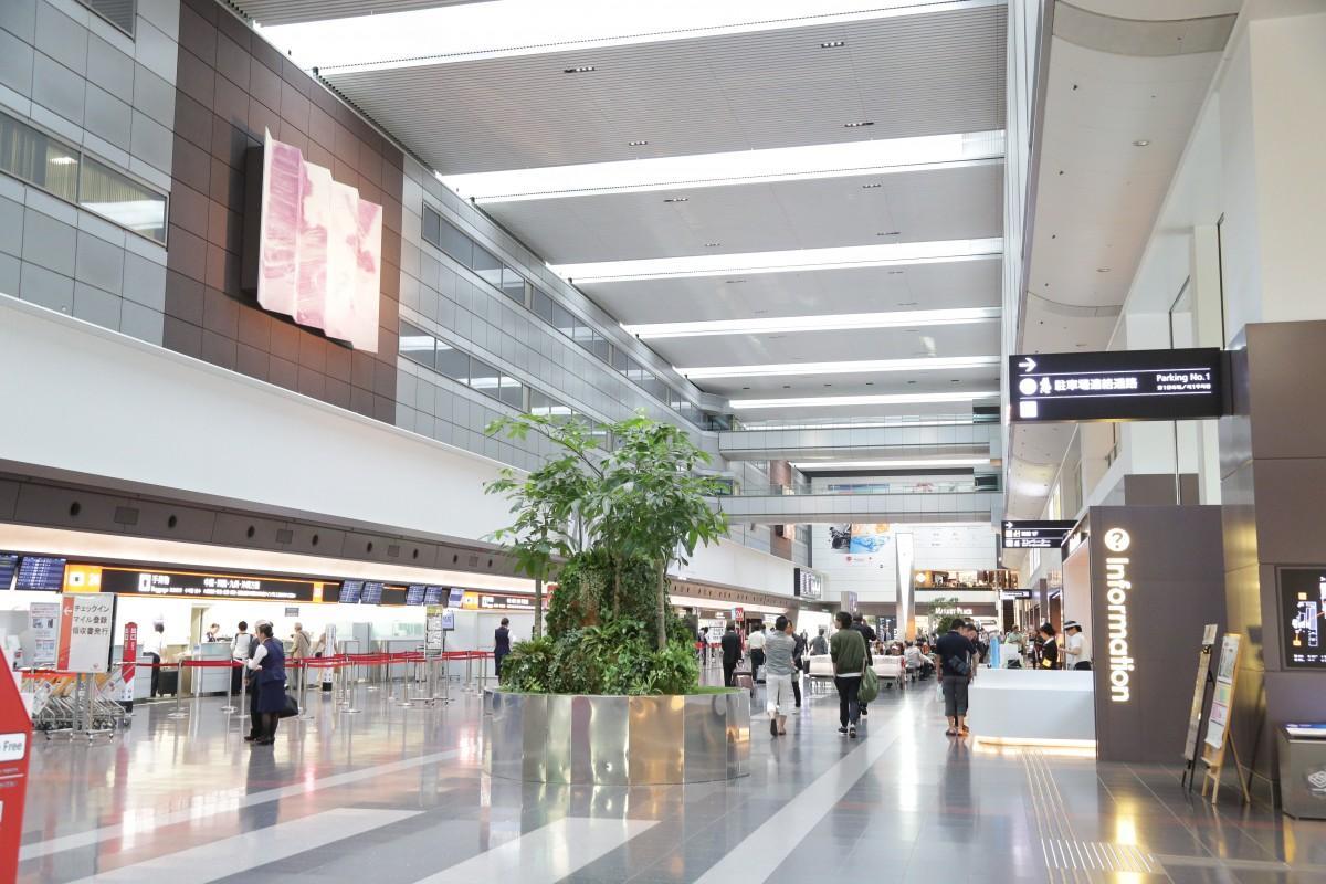 第一旅客ターミナルの様子