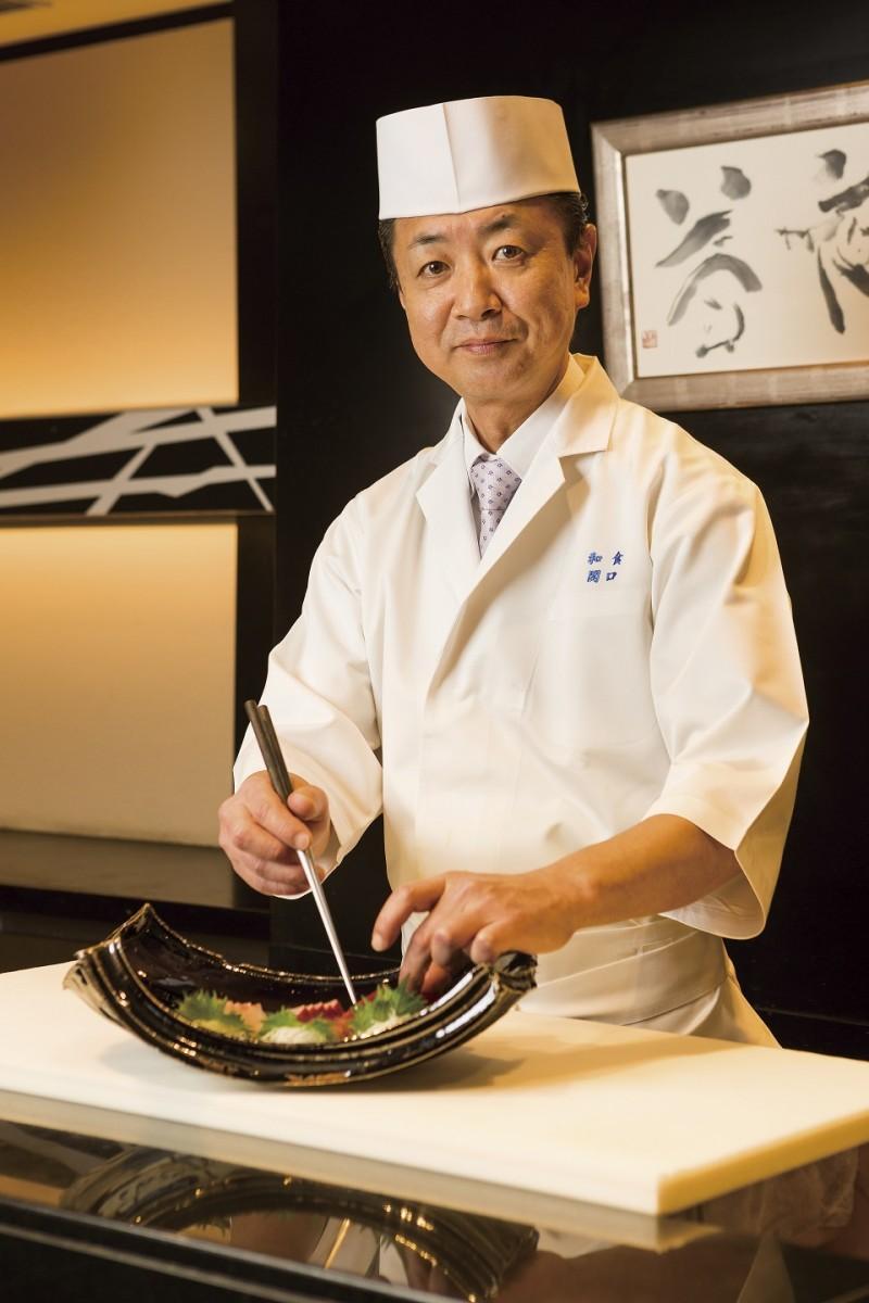 日本料理 美浜の関口料理長
