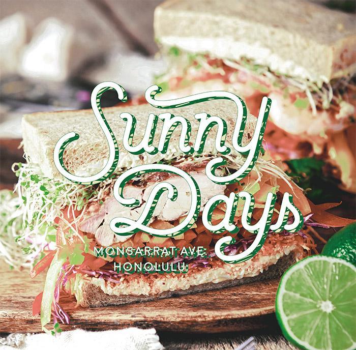 「Sunny days」(ヴィジュアルイメージ)