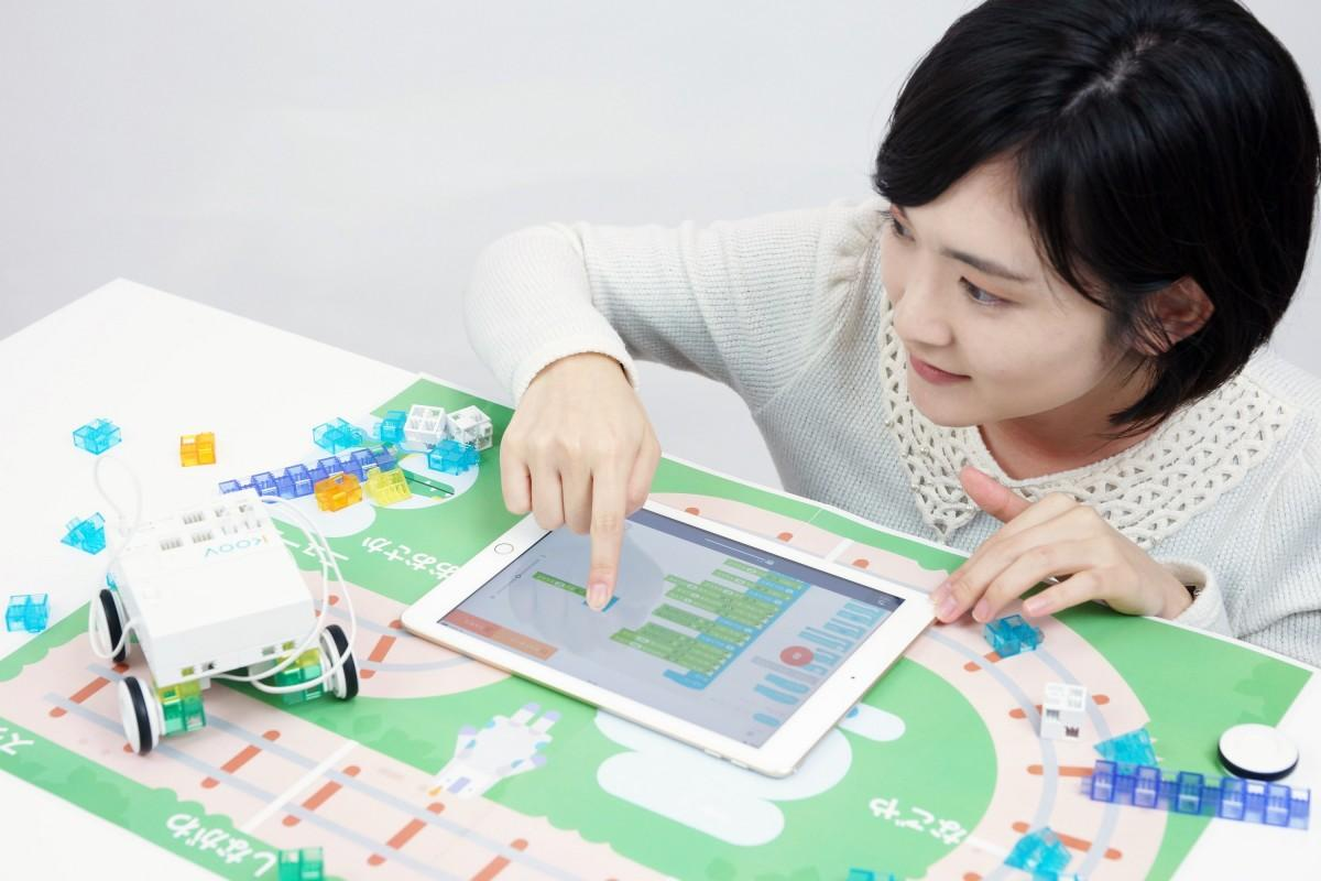 ロボット・プログラミング学習キット「KOOV」