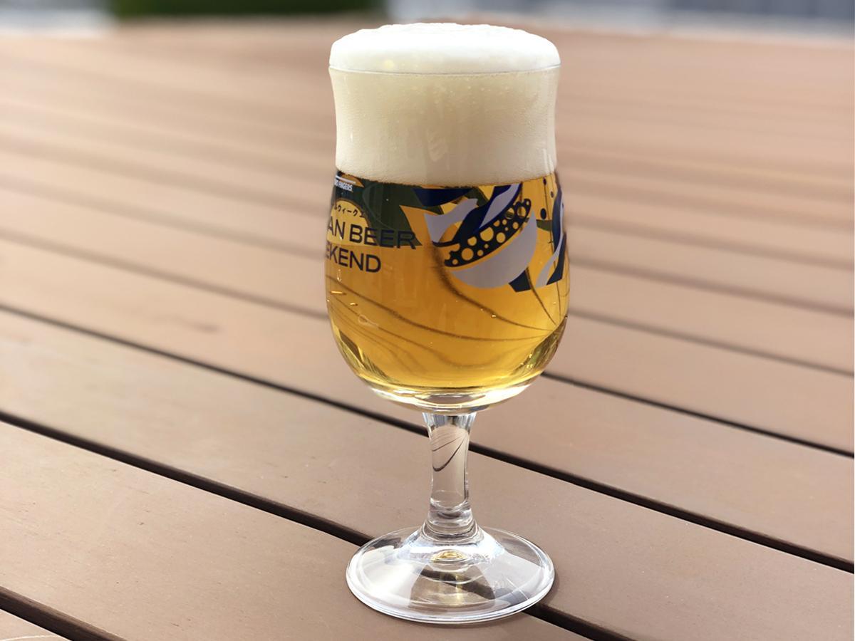 「ベルギービールウィークエンド」のオリジナルグラス