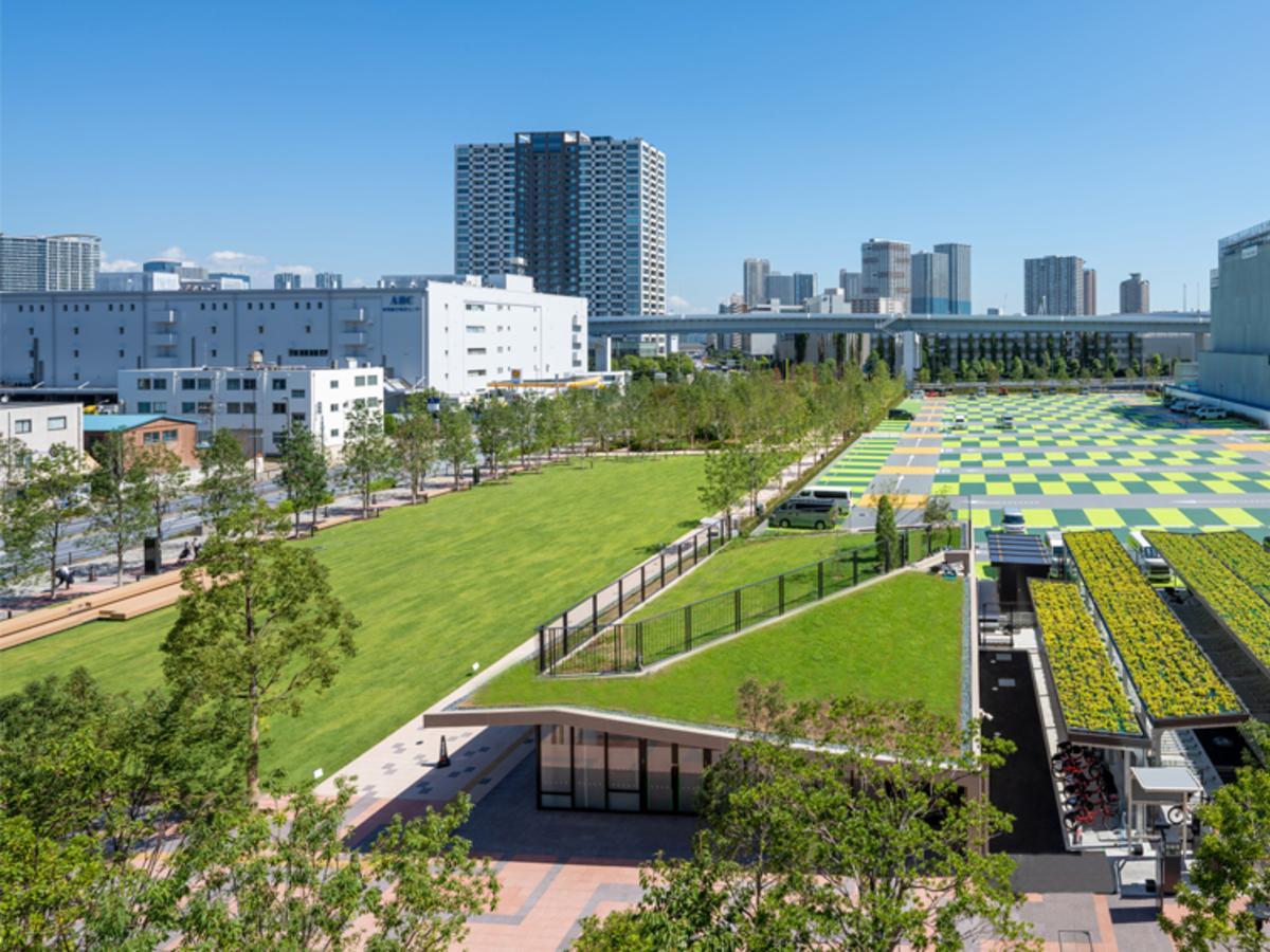 会場となる「有明ガーデンパーク」と「スポーツエンターテインメント広場」