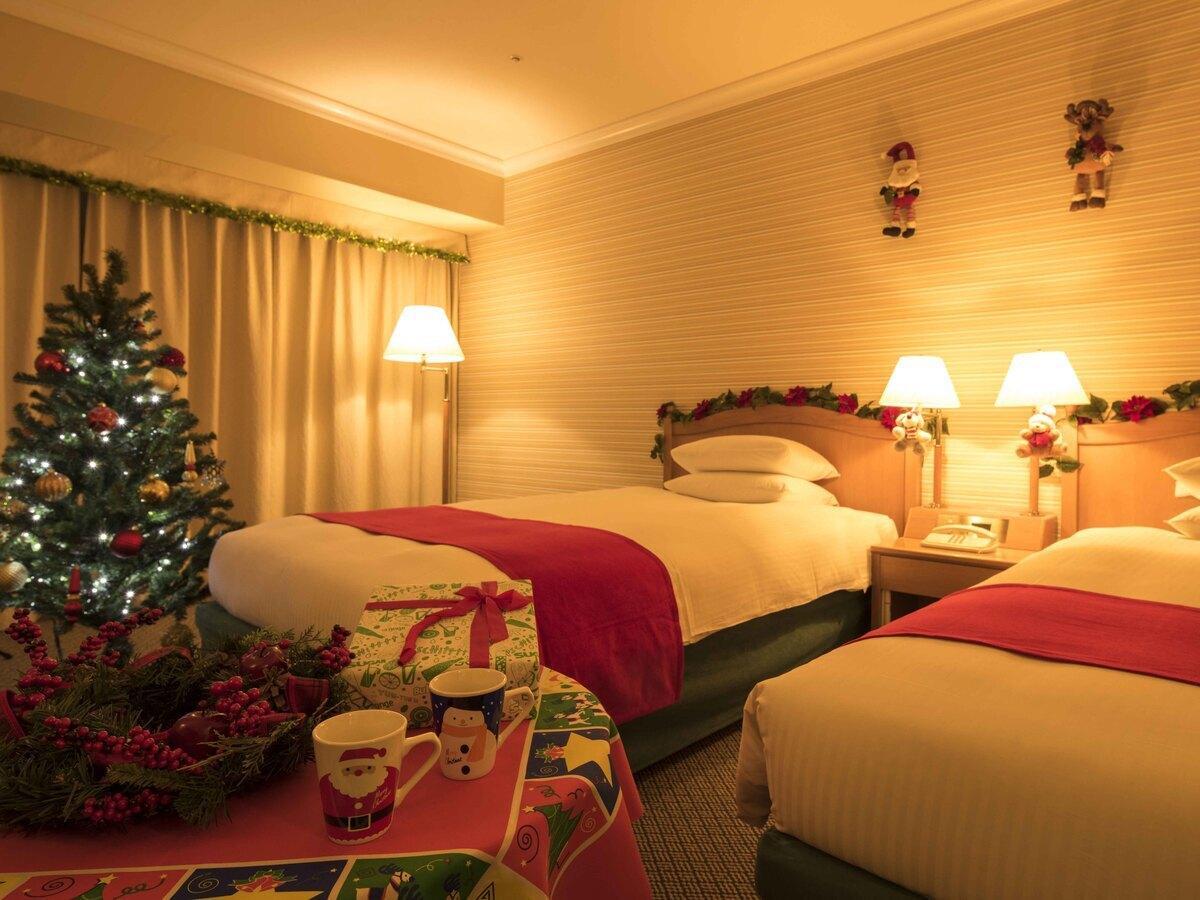 客室全体イメージ (写真は2019年クリスマスルーム)