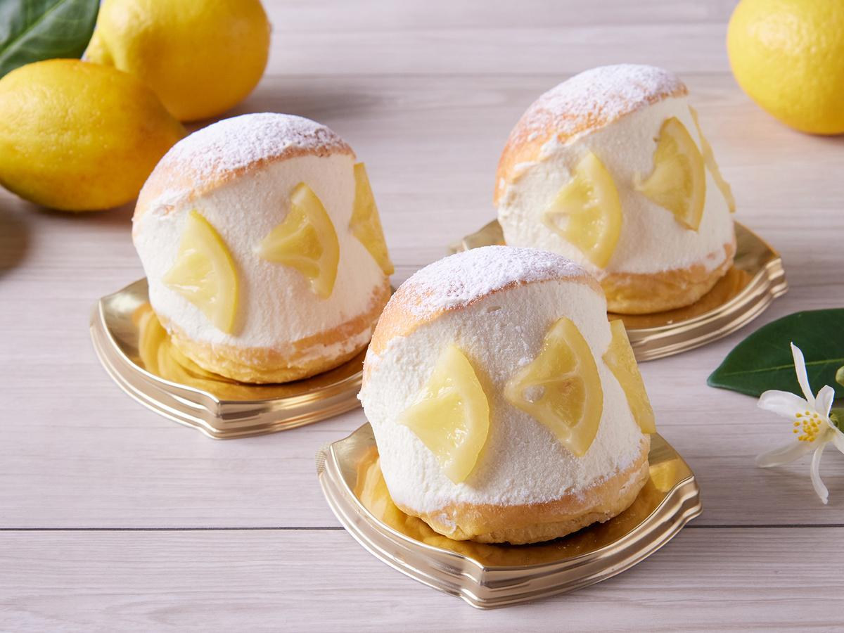 期間限定「瀬戸田レモンのマリトッツォ」