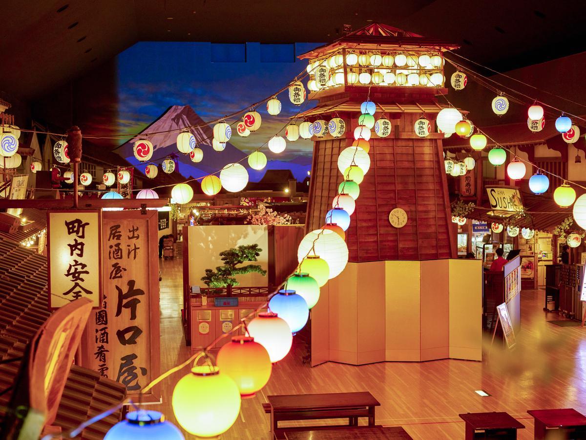 9月に閉館する「東京お台場 大江戸温泉物語」の館内