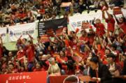 「富山グラウジーズ」ホームゲームでイベント企画 親子ふれあいバスケ教室も