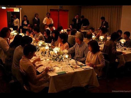 「バベットの晩餐会」をイメージした晩餐会