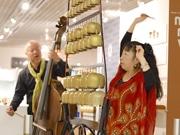 朝日町で糸魚川火災チャリティーコンサート 一日も早い春の到来願う