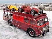 富山で「世界の大ミニカー展」 ミニカーから実車まで1500点がそろう
