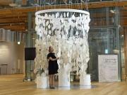 富山でインスタレーション企画展 図書館の「知の循環」可視化、出合いつなぐ