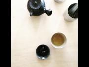 富山のコーヒー焙煎店で静岡の雑貨店出張展示 静岡の良品を紹介