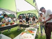 富山のブドウ園で野外イベント 「食と音楽」テーマに