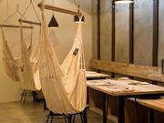 滑川市の旧宿場町に「ハンモックカフェ」 蔵のある古民家を改装